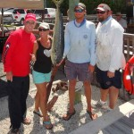 Capt-Rick-Murphy-with-wife-Cathy-&-fishing-Captains-John-Hoover-Marshall-Ruffo