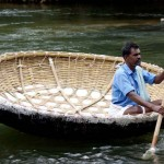 Coracle_at_Hogenakkel_TN