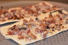 bacon flatbread pizza