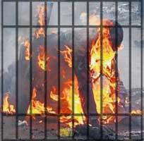 burn-alive-cage
