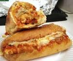 chicken-parmigiana-on-hoagi-roll