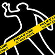 crime scene murder outline