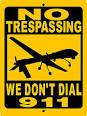 drone no trespassing