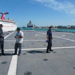 flight-deck outside