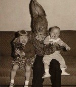 easter bunny monster