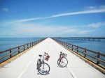 old 7 mile bridge 2 bikes