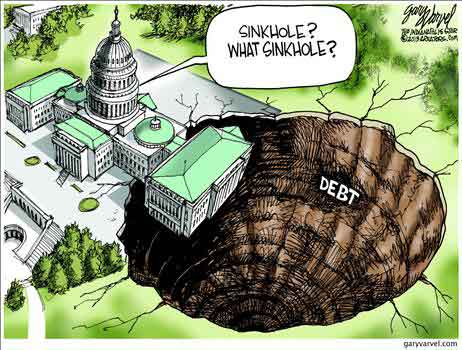 Liberals Complain about ObamaCare's Costs... Sinkhole7