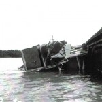 sunk at dock