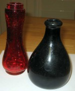 vases ruby green